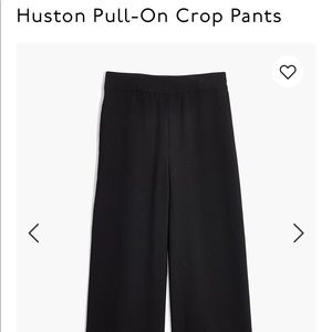 Madewell Houston Pull On Crop Pants